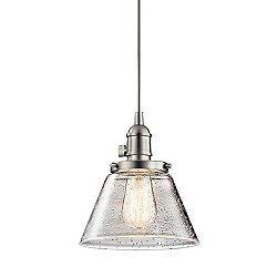 Avery Cone Mini Pendant Light