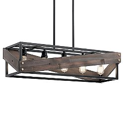 Fulton Cross Linear Suspension Light