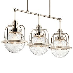 Triocent 3 Light Linear Chandelier