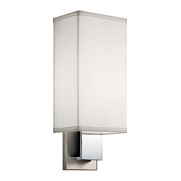 10438 Led Wall Sconce By Kichler - Color: White (10438nchled)