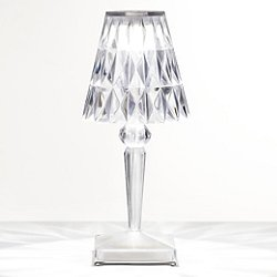 Battery Table Lamp by Kartell (Crystal) - OPEN BOX RETURN