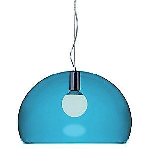 FL/Y Pendant Light (Petroleum Blue/Medium) - OPEN BOX RETURN by Kartell
