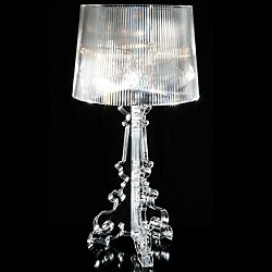 Bourgie Table Lamp by Kartell (Crystal) - OPEN BOX RETURN