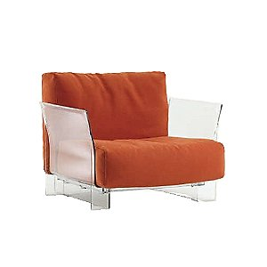Pop Sofa with Cotton by Kartell