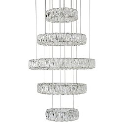 Solaris 5-Tier LED Chandelier