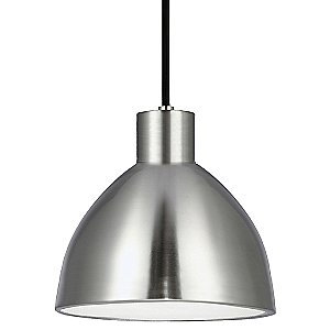 PD17 LED Pendant (Brushed Nickel/Small) - OPEN BOX RETURN by Kuzco Lighting