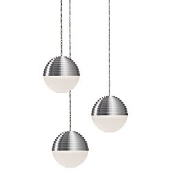 Supernova LED Round Multi-Light Pendant Light