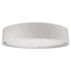 Dalton LED Flushmount (Beige/20 Inch) - OPEN BOX RETURN