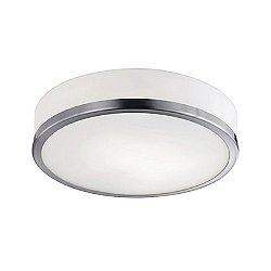 Charlie Round Flush Mount Ceiling Light