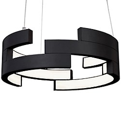 Anello LED Pendant (Black/Small) - OPEN BOX RETURN