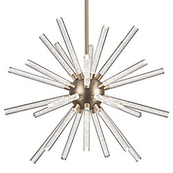 Astro LED Chandelier (Aged Brass/Large) - OPEN BOX RETURN