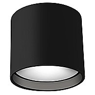 Falco Round LED Flush Mount Ceiling Light (Black) - OPEN BOX RETURN