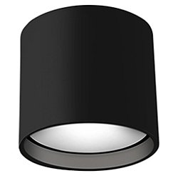 Falco Round LED Flush Mount Ceiling Light (Black) - OPEN BOX RETURN