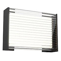 Dynamo Acrylic Panel Outdoor LED Wall Sconce
