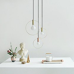 Aura Radical Cluster Pendant Light