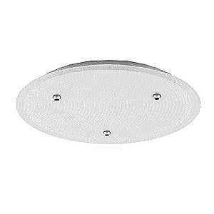 3 Round Large Line-Voltage Canopy by LBL Lighting