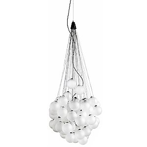 Stochastic LED Pendant Light by Luceplan