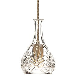 Bell Decanter Pendant Light
