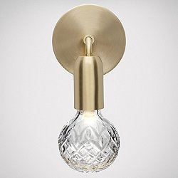 Crystal Bulb LED Wall Sconce (Clear) - OPEN BOX RETURN