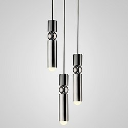 Fulcrum LED Multi-Light Pendant Light