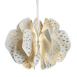 Nightbloom Gold LED Pendant Light