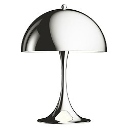 Panthella Mini Chrome LED Table Lamp