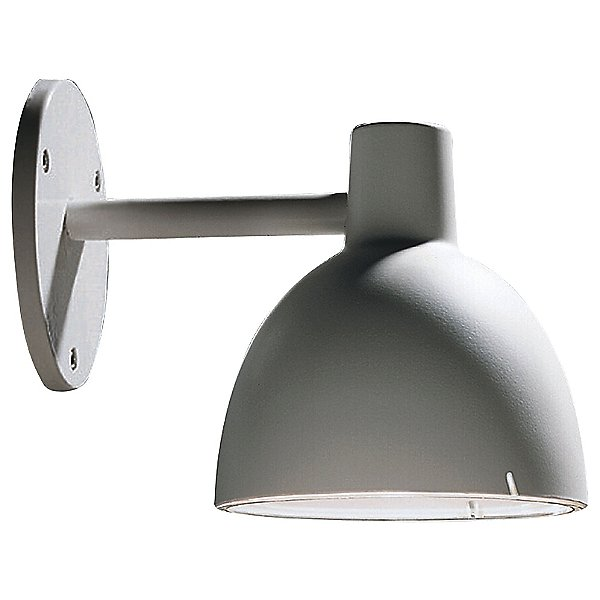 Toldbod 6.1 Outdoor Wall Light By Louis Poulsen - Color: Aluminum - Finish: Aluminum - (5743904785)