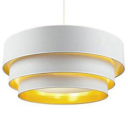 Deco Deluxe 3-Tier Pendant Light