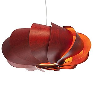 Bloom Oval Pendant Light by MacMaster