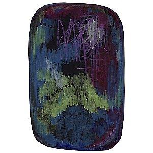Scribble Black/Green/Blue Rug by Moooi Carpets