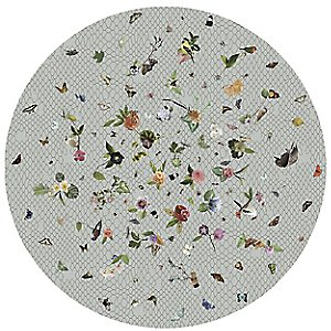 Garden of Eden Round Rug by Moooi Carpets
