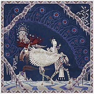 Polar Byzantine II Square Rug by Moooi Carpets