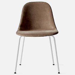 Harbour Side Chair Steel Base, Upholstered