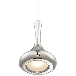 Acid LED Round Bottom Pendant Light