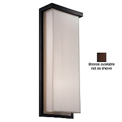 Ledge Indoor/Outdoor LED Wall Sconce (Bronze/20in)- OPEN BOX