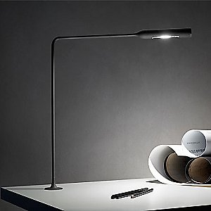 Flo LED Grommet Desk Lamp by Lumina