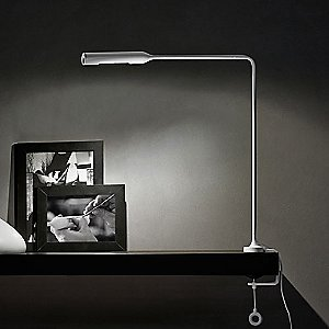Flo LED Clamp Desk Lamp by Lumina