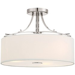 Poleis 3-Light Semi Flush Ceiling Light