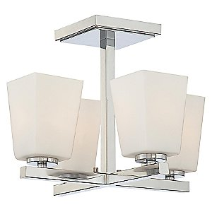 City Square 4 Light Ceiling Light by Minka-Lavery
