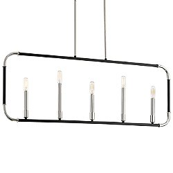 Liege 5-Light Linear Suspension Light