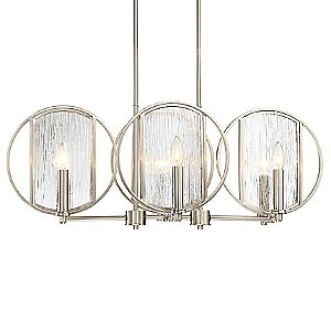 Via Capri 6-Light Linear Suspension Light by Minka-Lavery