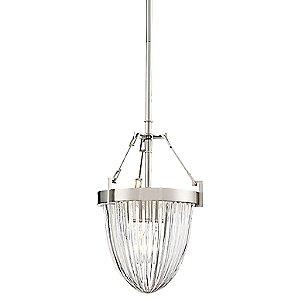 Atrio Semi-Flush Mount Ceiling Light / Mini Pendant Light by Minka-Lavery