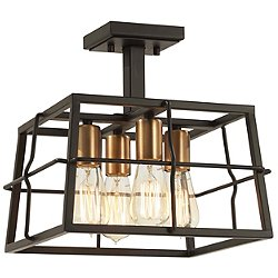 Keeley Calle Semi-Flush Mount Ceiling Light