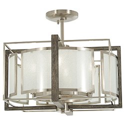 Tyson's Gate Semi-Flush Mount Ceiling Light