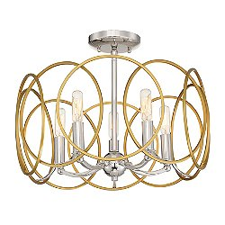 Chassell Semi-Flush Mount Ceiling Light