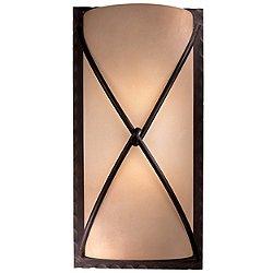Aspen II Wall Sconce No. 1972-5 (Rustic/Bronze/L) - OPEN BOX