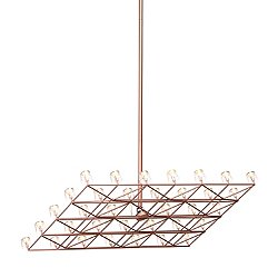 Space Frame Pendant Light