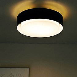 Plaff-On LED Ceiling Light (13 Inch/Black) - OPEN BOX RETURN