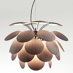 Discoco Wood Pendant Light