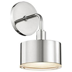 Nora Wall Sconce (Polished Nickel) - OPEN BOX RETURN